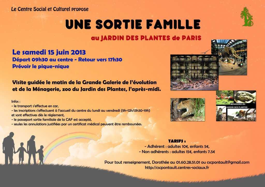 Sortie famille au jardin des plantes for Au jardin des plantes poem
