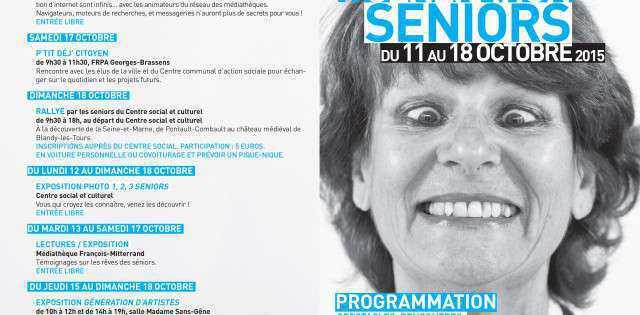 A l'occassion de la semaine bleue, la semaine nationale des personnes retraités et des personnes âgées, le Centre Social et Culturel de Pontault-Combault ainsi que ses partenaires vous invite à […]