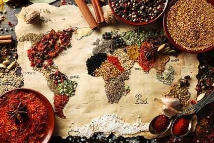 Faites un voyage culinaire autour du monde!