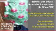 Prolongation pour la distribution des masques pour les enfants de la commune (du CP au CM2), jusqu'à fin juin. 2 masques par enfants seront offerts (dans la limite du stock […]